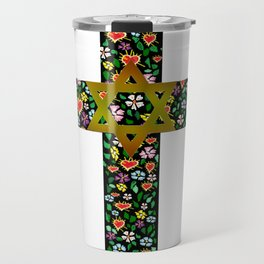 Christian David Cross Travel Mug