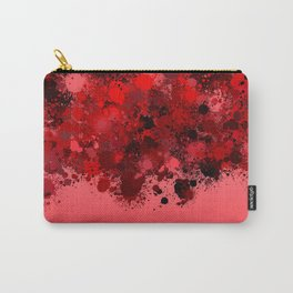 paint splatter on gradient pattern dr Carry-All Pouch