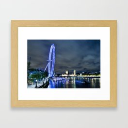 London Eye Big River Framed Art Print