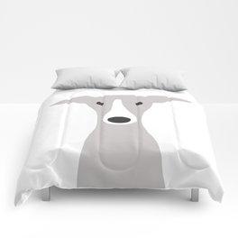 Cute Greyhound / Italian Greyhound Comforters
