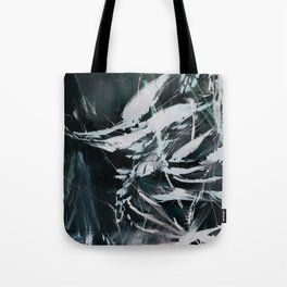 Night-Forest-Rain Tote Bag