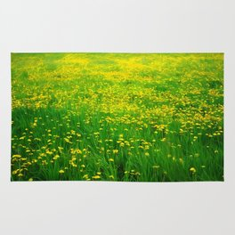 Dandelion Field Rug
