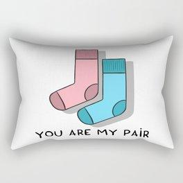 You are my pair Rectangular Pillow