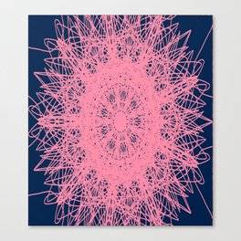 Networked Canvas Print
