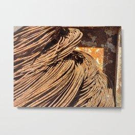 Iron Angel Hair Metal Print