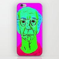 larry david iPhone & iPod Skins featuring Larry David 5 by Alyssa Underwood Contemporary Art