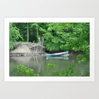 what a nice day Art Print