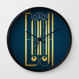 Emma Wall Clock
