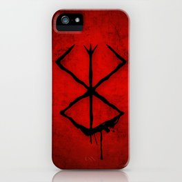The Berserk Addiction iPhone Case