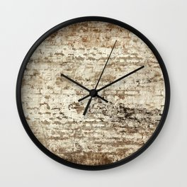 Manhattan Wall Mural-Seamless Wall Clock