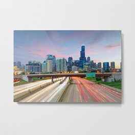 Chicago 02 - USA Metal Print