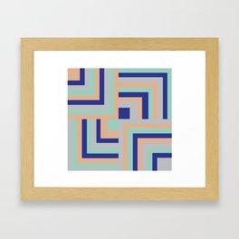 Four Squared Framed Art Print