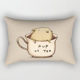 Pup of Tea Rectangular Pillow