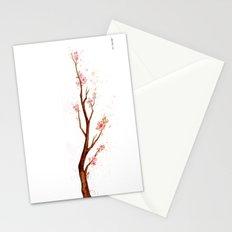 Cherry Tree Branch Stationery Cards