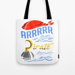 Pirate Hook Apparel Tote Bag