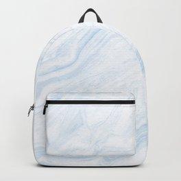 Light blue marble Backpack