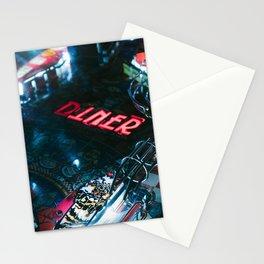 Flipper arcade bar Stationery Cards