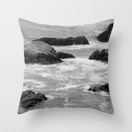 No Swimming Today Throw Pillow