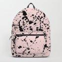 Splat Black on Pink by projectm