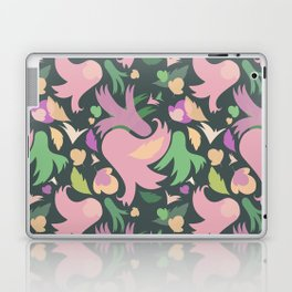 The powerful and pink spring is coming Laptop & iPad Skin