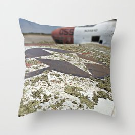 Lichen What You See Throw Pillow