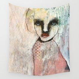 Monochrome portrait Wall Tapestry