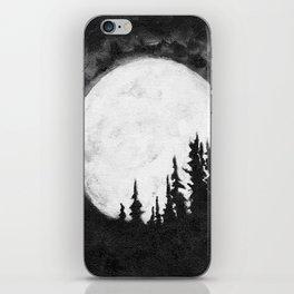 Full Moon & Trees iPhone Skin