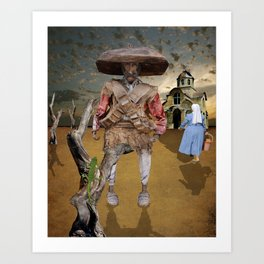 El desperado confessed Art Print