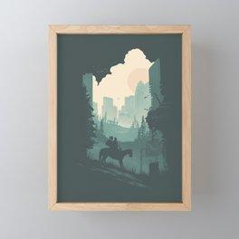 Ellie & Dina Framed Mini Art Print