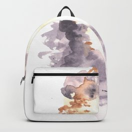 Soft Texture Watercolor | [Grief] Heaven Backpack