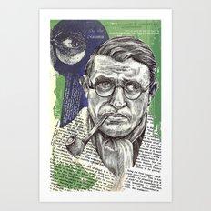 Sartre  - Nothingness Art Print