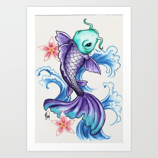 For Luck Art Print