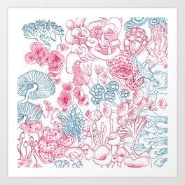 Mycology 1 Art Print