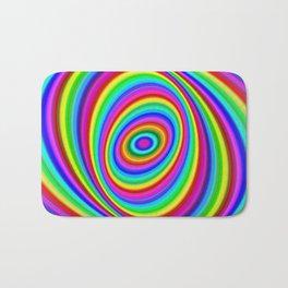 Rainbow Hypnosis Bath Mat