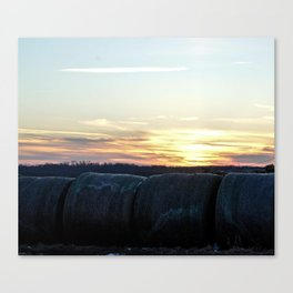 A Farmer's Work is Never Complete Canvas Print
