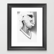 A Perfect Nothing Framed Art Print