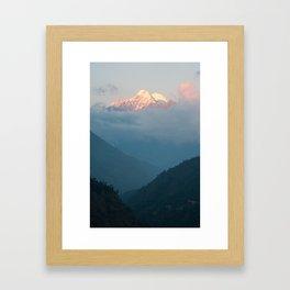 The Himalayas  Framed Art Print