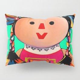 Mexican Maria Doll 3 Pillow Sham