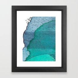 Deep blue3 Framed Art Print