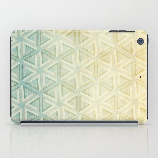 escher pattern iPad Case