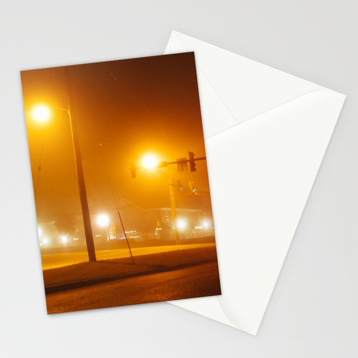 Midnight Walk Stationery Cards