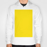 pantone Hoodies featuring Yellow (Pantone) by List of colors