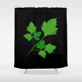 New Job New Celery Shower Curtain