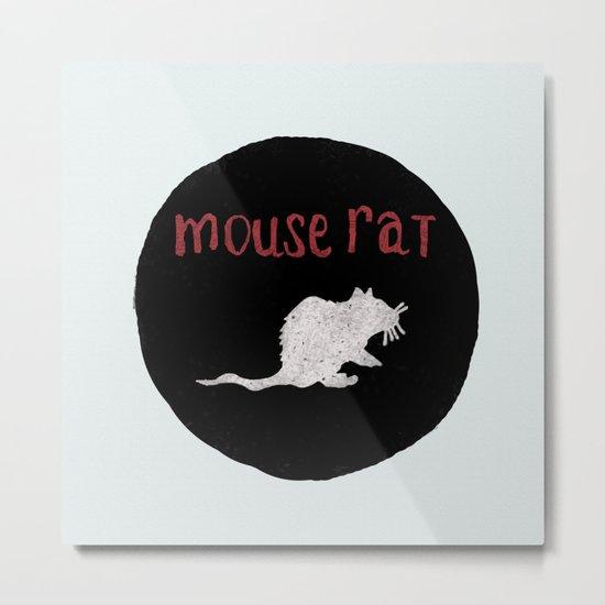 Mouse Rat Metal Print