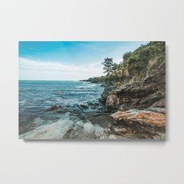 Ocean's Edge Newport Rhode Island Metal Print