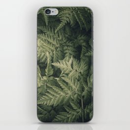 SHADED GREEN FERN iPhone Skin