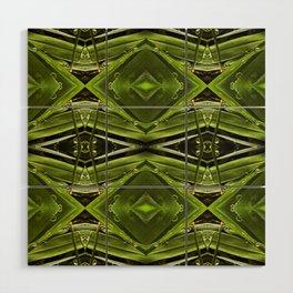 Dew Drop Jewels on Summer Green Grass Wood Wall Art
