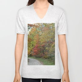 Autumn Revelations Unisex V-Neck