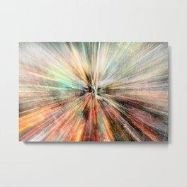 Warp Speed Metal Print