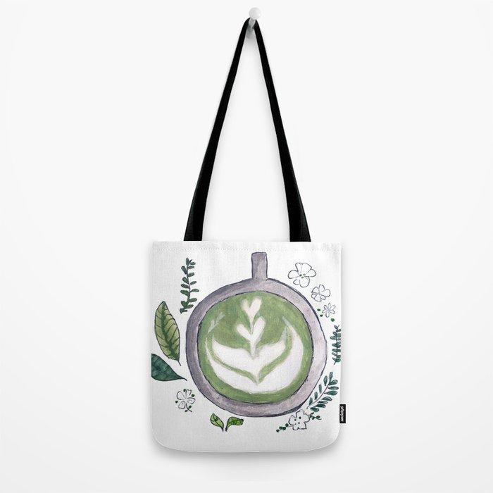 Matcha mug Tote Bag